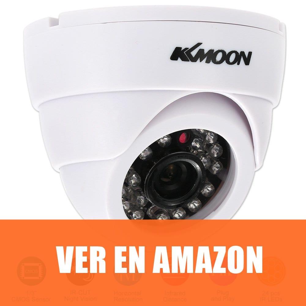 KKmoon HD 1200TVL - Cámara de Vigilancia