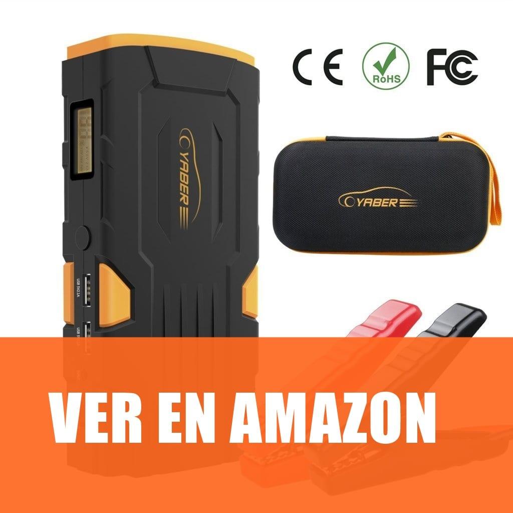 YABER - Cargador de batería de coche