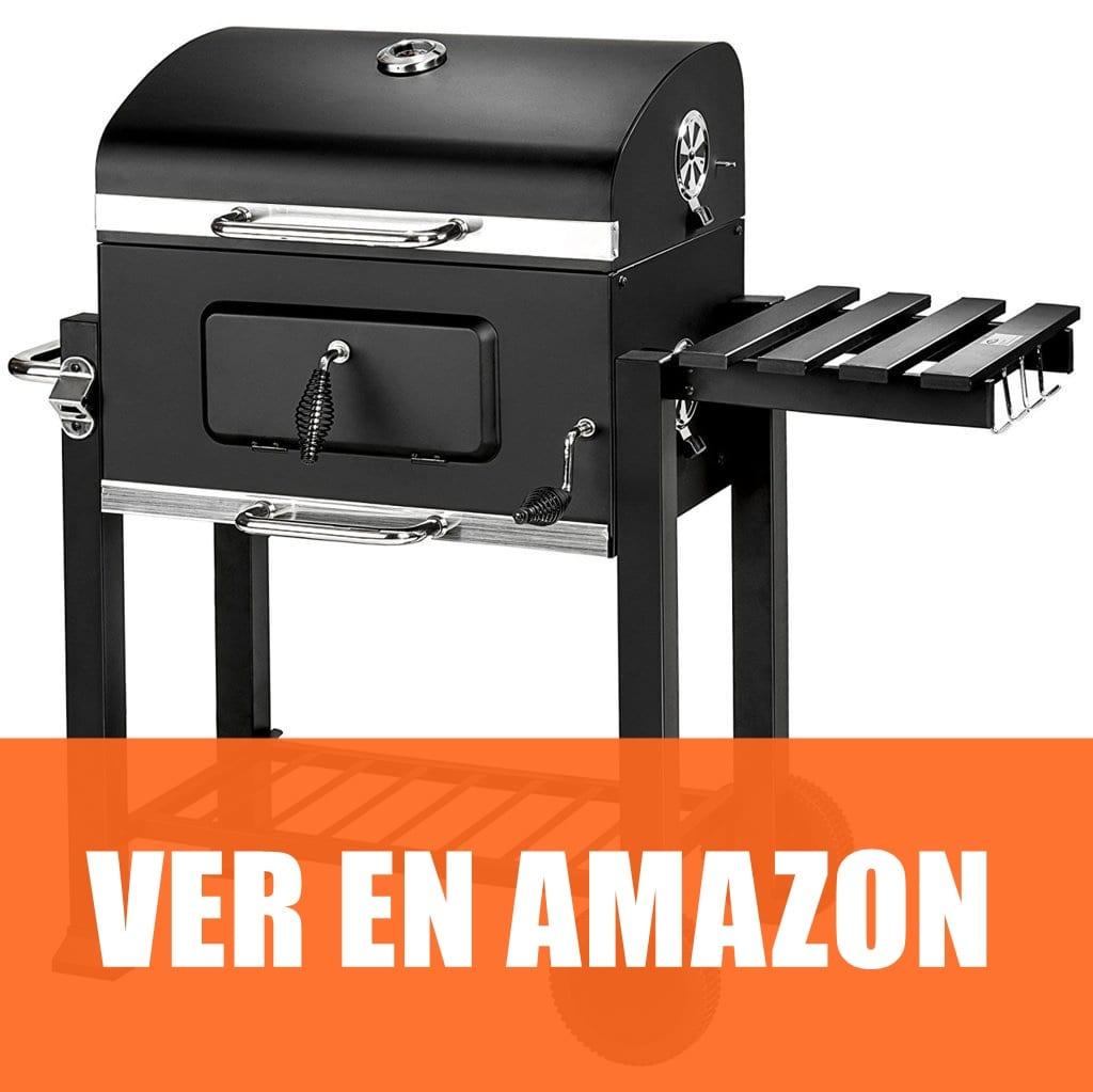 TecTake BBQ - Barbacoa de carbón vegetal