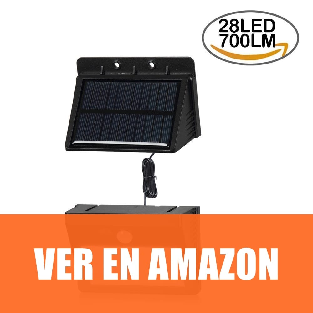 T-SUN - Lámparas Solares con Sensor de Movimiento