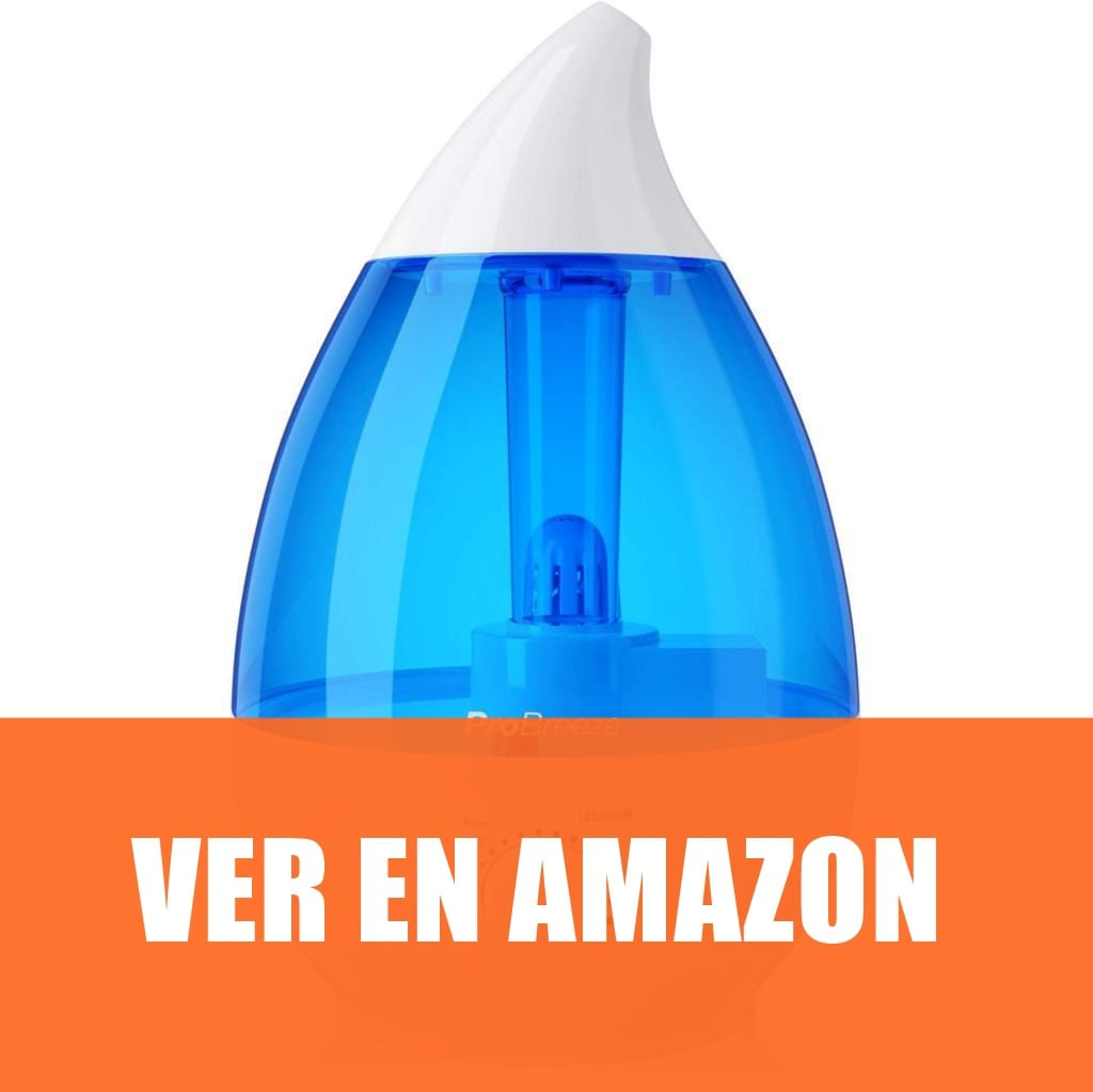 Pro Breeze - Humidificador Ultrasónico 3,8 L