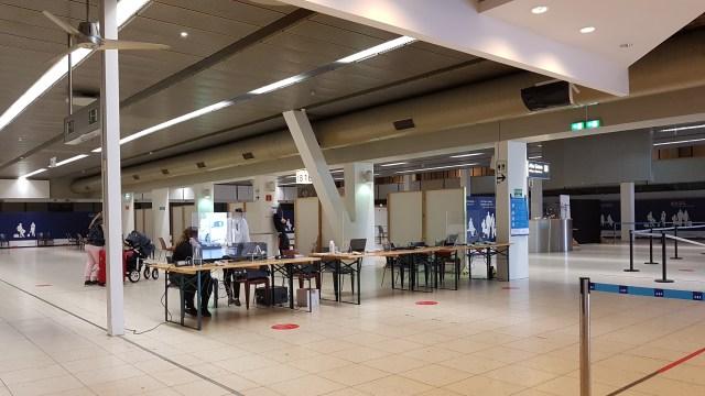 SARS-CoV-2 Testing Center Hamburg Airport