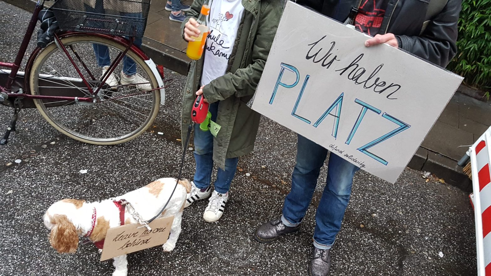 Wir haben Platz Demo, Hamburg
