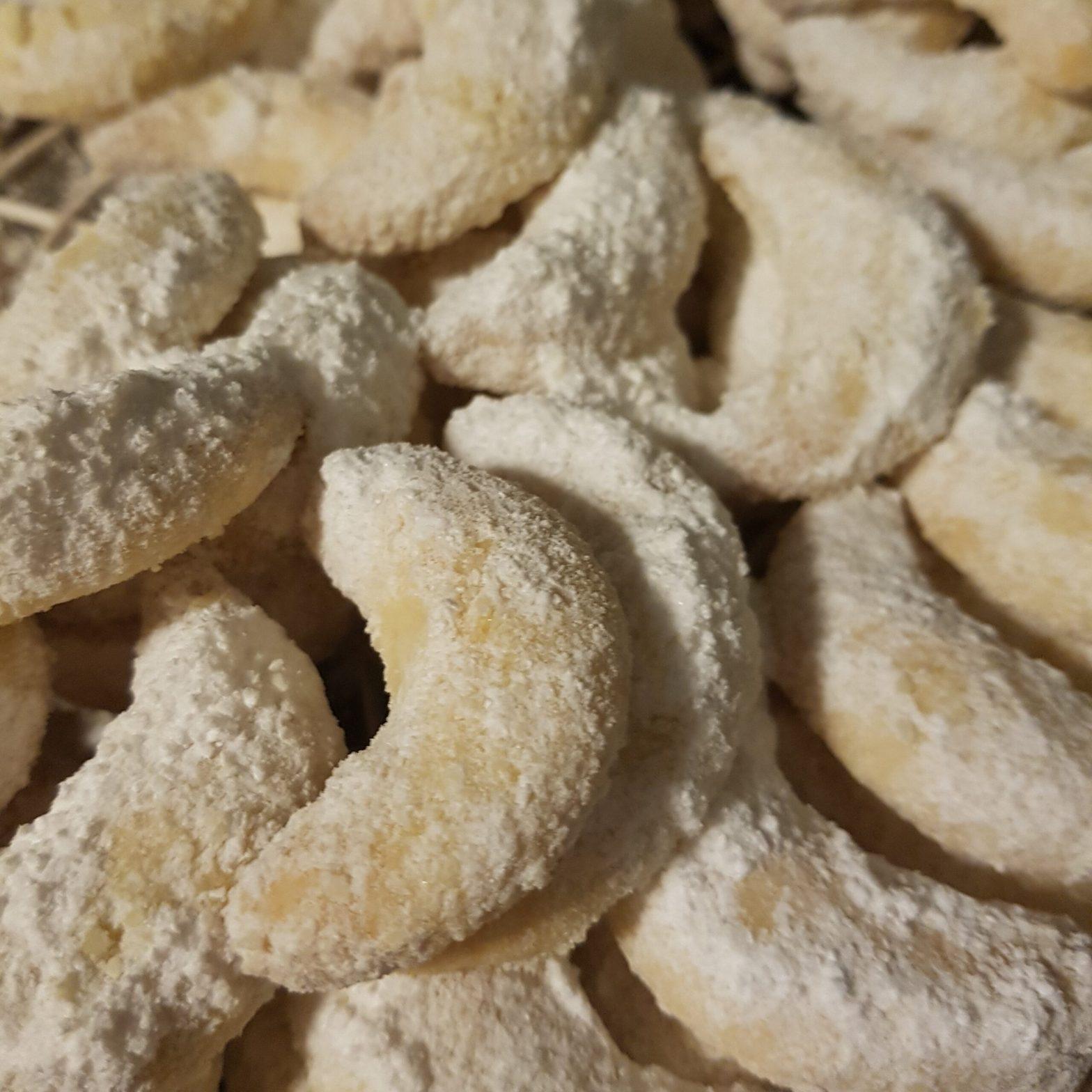 Leckeres Rezept für traditionelle, vegane Vanillekipferl