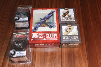 Wings of Glory Planes/X-Wing Ships