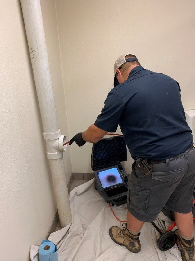 Sewer Camera Work