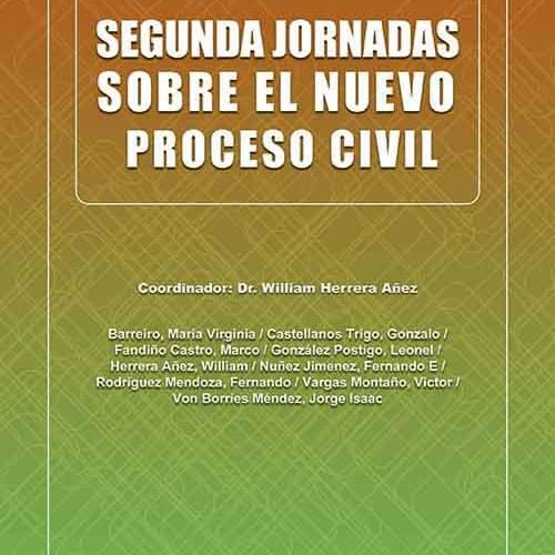 Segundas jornadas sobre el nuevo proceso civil