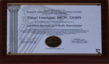 Bath Remodeler dean master certified remodeler // certified kitchen and bath