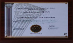 Julie Certified Kitchen & Bath Remodeler