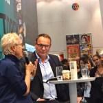 Doris Dörrie am Stand der Süddeutschen Zeitung