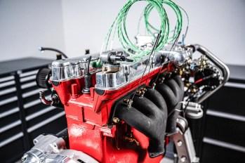 Inbetriebnahme eines neu aufgebauten Aston Martin DB2/4 Motors auf dem Stationären Prüfstand der Herrmann Motorenentwicklung GmbH