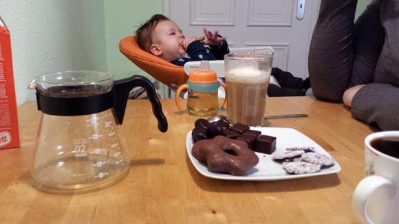 Kaffee und Kuchen am Samstag