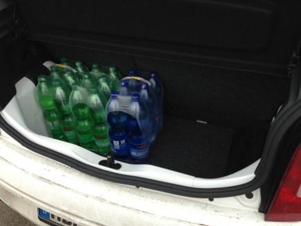 Kofferraum bietet Platz