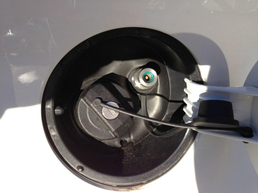 Sicherheitsventil für den Erdgasanschluss