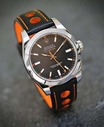 Rolex Milgauss schwarz Gruß Bernhard 1