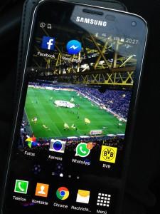 Sicher ein Bayern-Fan, der Handy-Verlierer!