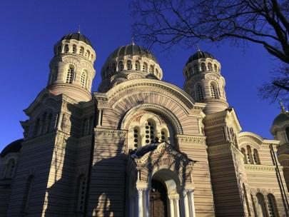 Die orthodoxe Christi-Geburt-Kathedrale. ©HerrundFrauBayer
