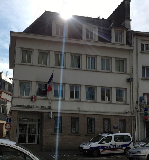 """Das """"echte"""" Kommissariat in Concarneau. ©HerrundFrauBayer"""