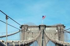 """Die Brooklyn Bridge ist natürlich ein """"must do"""". Wir sind dann auch jeden morgen von Brooklyn aus nach Manhattan gelaufen :) ©HerrundFrauBayer"""