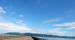 Da drüben geht es los! Übern Columbia River Richtung Washington. ©HerrundFrauBayer