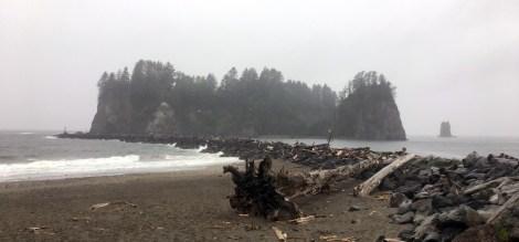 Die Küste in La Push ähnelt sehr der Küste auf Vancouver Island. ©HerrundFrauBayer