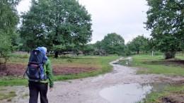 Die Kralle ist super bequem. Gegen den Regen wird jetzt noch ein Überzug besorgt. ©HerrundFrauBayer