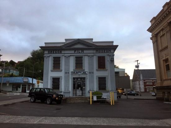 Der ehemalige Knast in Astoria is jetzt ein Film-Museum. ©HerrundFrauBayer