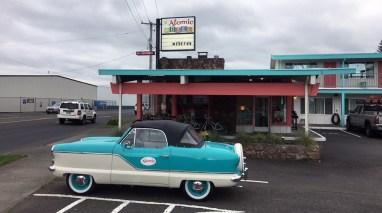 Im Atomic Motel ist gute Laune und nette Zimmer angesagt. ©HerrundFrauBayer