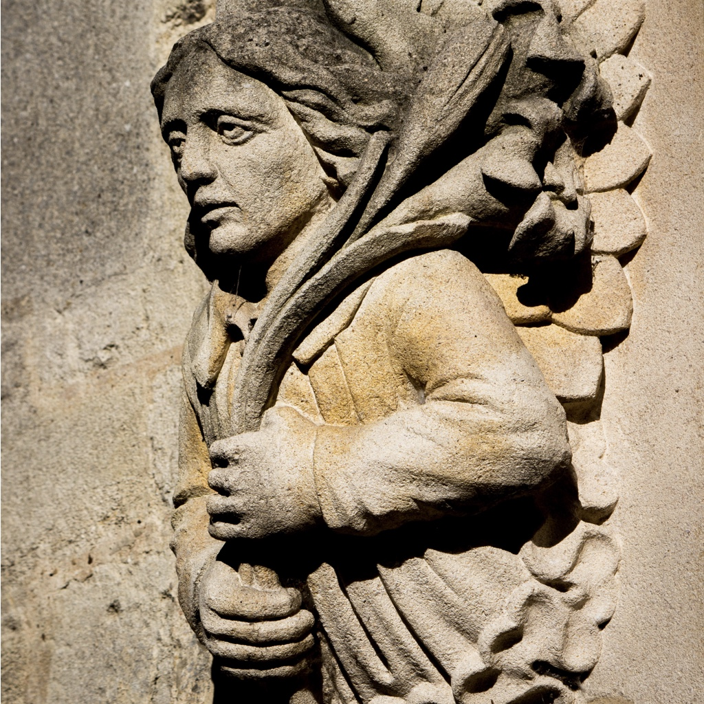 An angel from Magdalen College Oxford