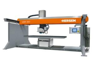 Maquina cortadora de disco puente Hersen NSR350