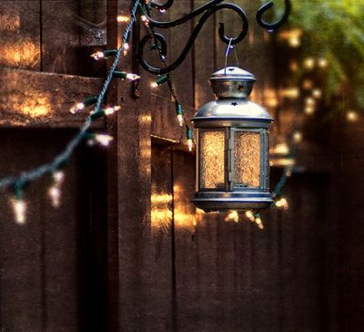 lamp fence