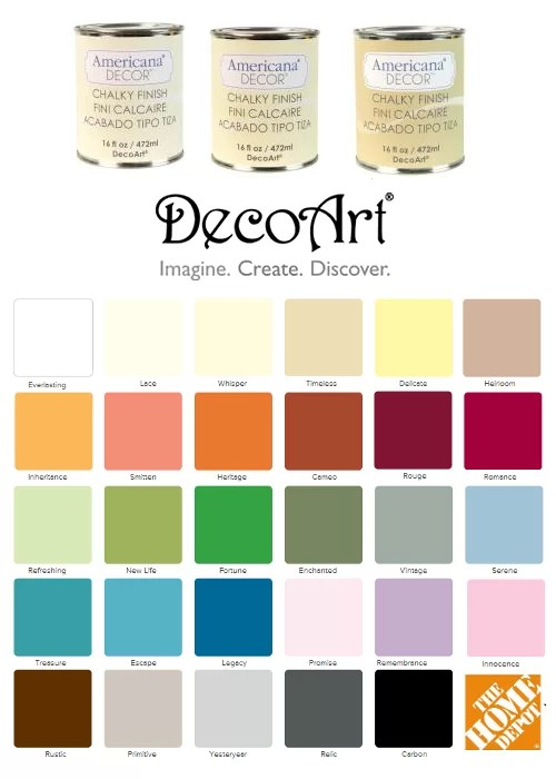 Chalk Paint Brand Colors