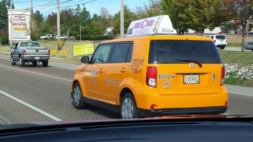 "Why are the ""Yellow"" Cabs in Memphis really orange?"