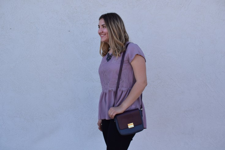 Peplum blouse: Target