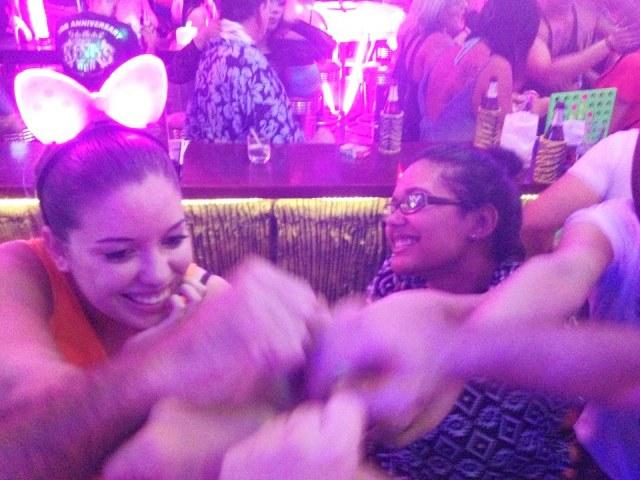 A random fun night our first night in Phuket.
