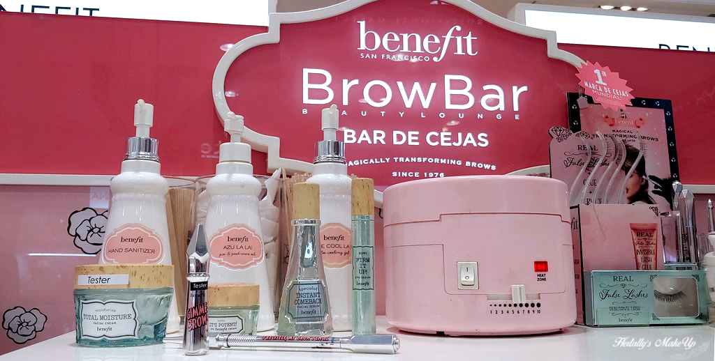 bar de cejas brow bar experiencia Benefit