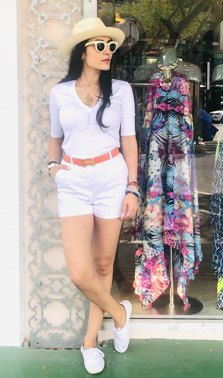 White Panama Hat - Rupika Chopra