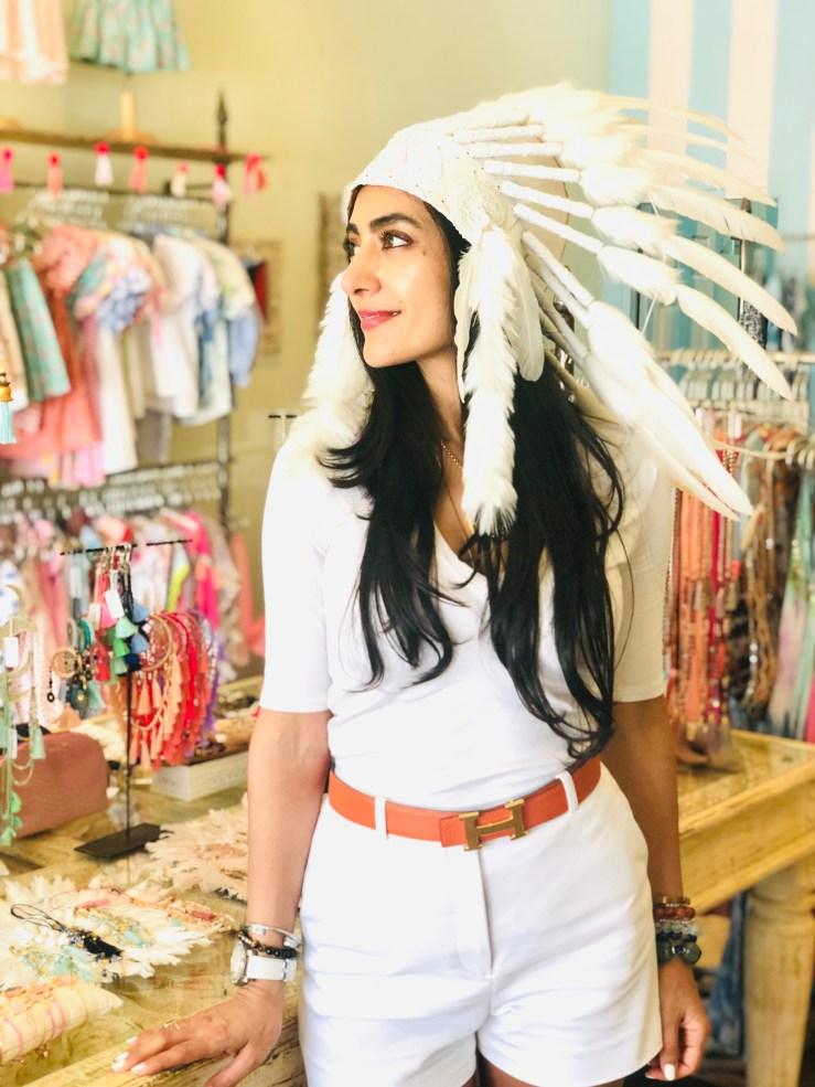 Feather Hat - Rupika Chopra