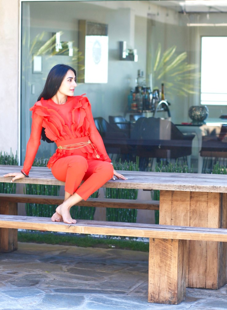 Rupika Chopra - Jumpsuit always in Vogue!