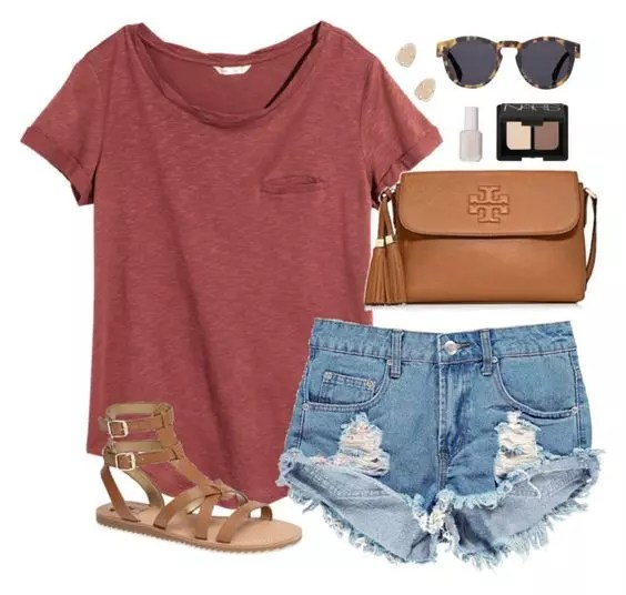 summer outfit casual her track