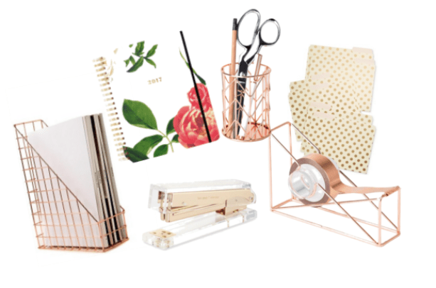 rose_gold_desk_survival_kit