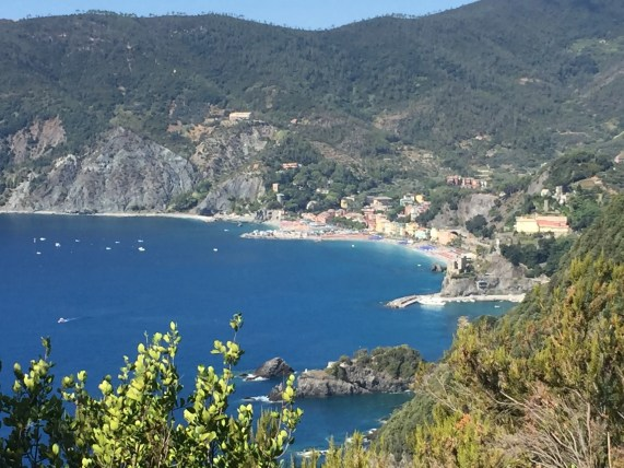 Saying goodbye to Monterosso after a thousand steps up