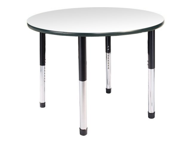 """Hercules Adjustable Height Round Activity Table 36"""" Dia"""