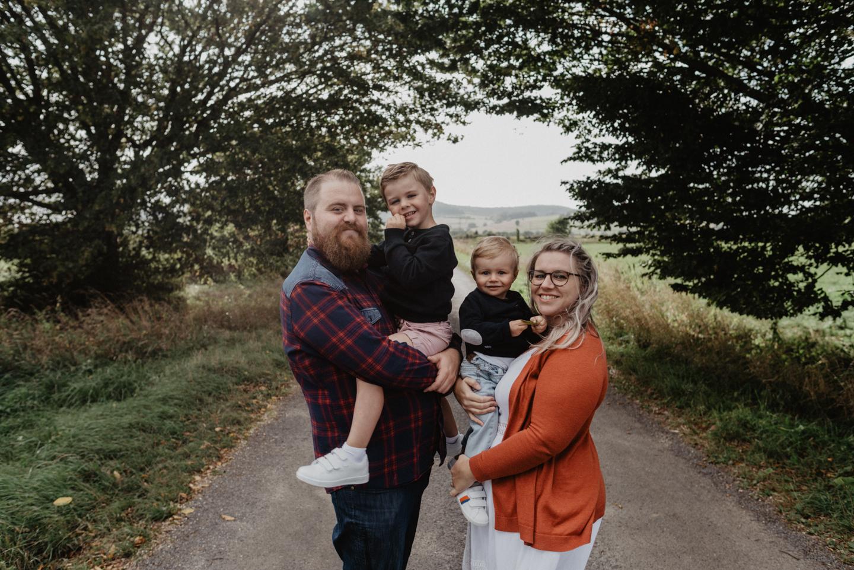 Une séance photo en famille à Bazeilles