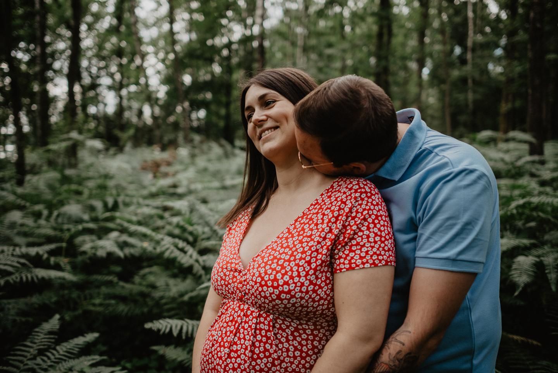 séance grossesse dans les Ardennes
