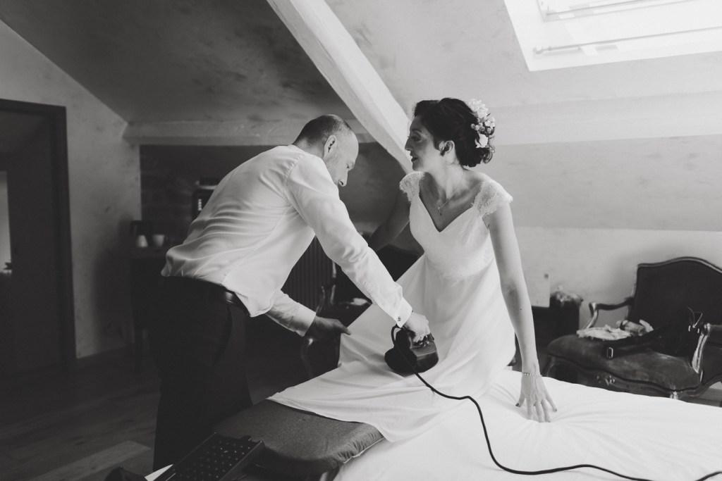 mariage romantique au château du faucon