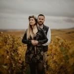 Une séance engagement dans les vignes |Gwendoline & Alexandre