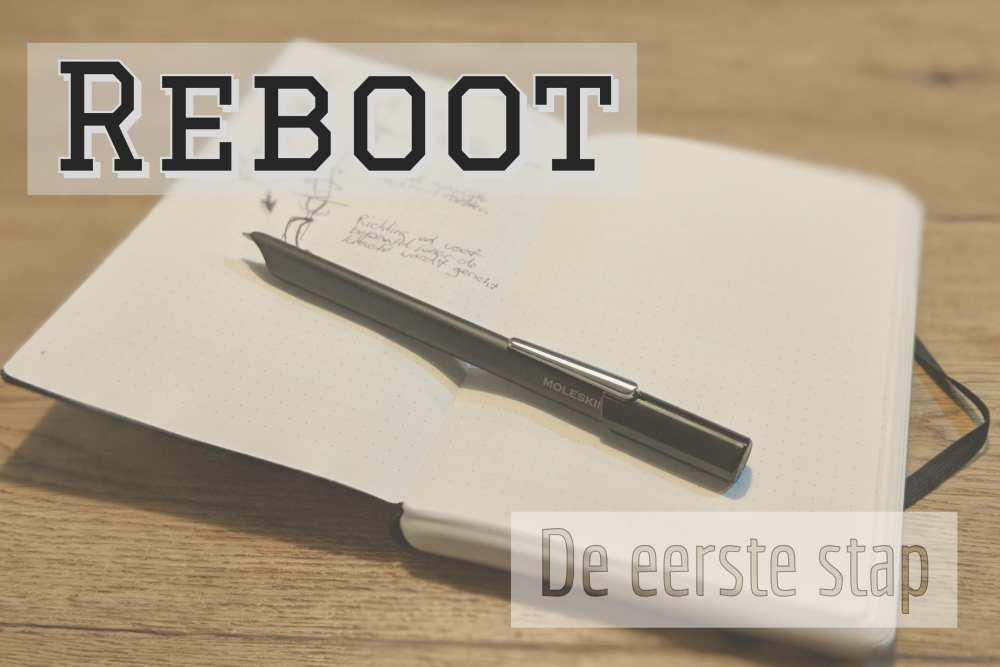 Reboot podcast de eerste stap