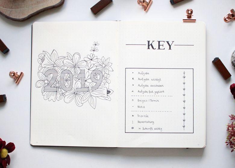 Bullet Journal Key Ryder Carroll
