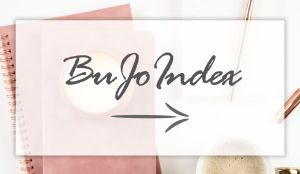 Bullet Journal Index Guide